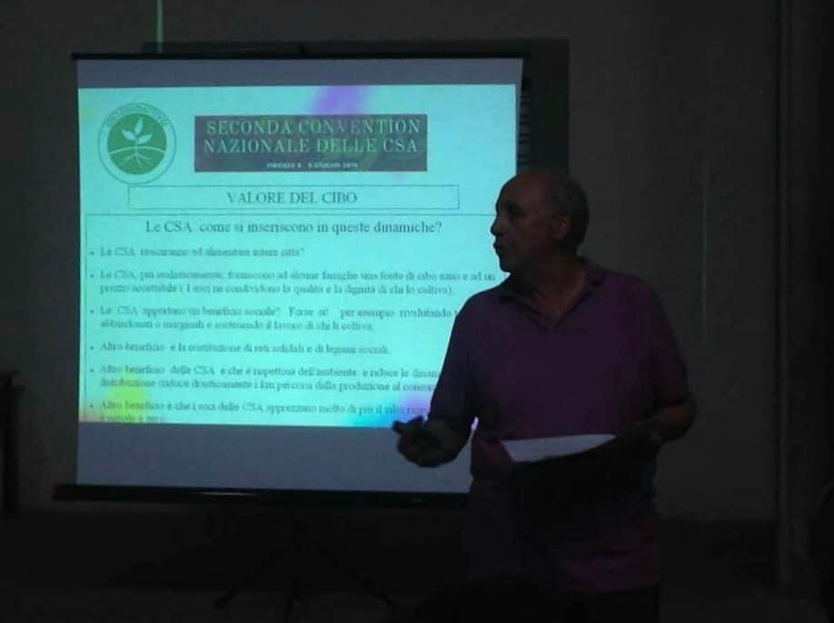 Andrea Battiata presenta  l´Orto Bioattivo