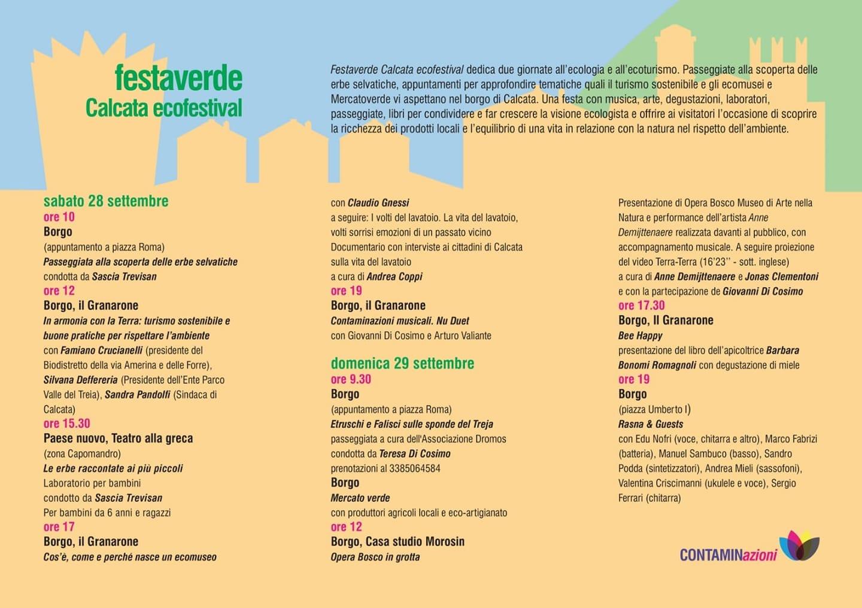 Festaverde @ Calcata, RM