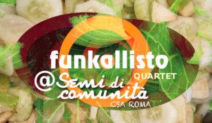 Funkallisto Quartet live in CSA! @ Campi CSA