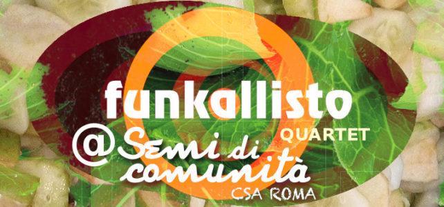 Funkallisto Quartet live in CSA!