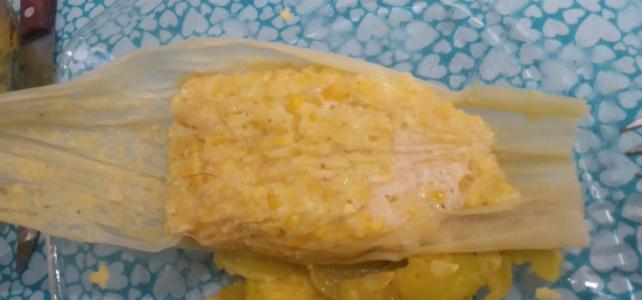 Humitas (piatto tipico Ecuadoriano)