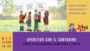 Aperitivo col contadino: la CSA si presenta @ Circolo Arci Kokè